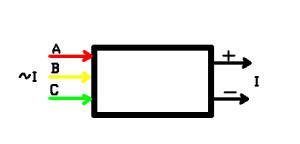 блок-схема выпрямителя