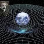 Искривление пространства по Эйнштейну